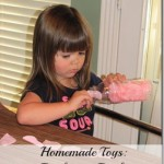Homemade Toys : Petals in a Bottle