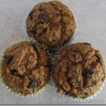Healthy Pumpkin Chip Muffins