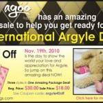 #WIN 40% off Agoo Argyle Leggings & a GIVEAWAY [CLOSED] THREE WINNERS