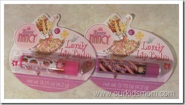 Fancy Nancy Lip Balm