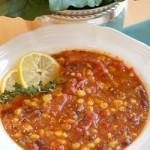 What's for Dinner? Black Bean Vegetable Soup Recipe (Vegetarian/Vegan)