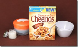cinnamon burst cheerios gift  pack