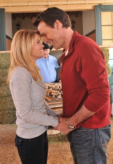 Candace Cameron Bure and David James Elliot