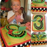 Ethan's Cars 2 3rd Birthday Party & Cake
