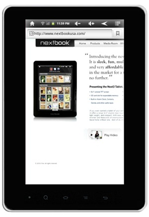 Nextbook Tablet Giveaway