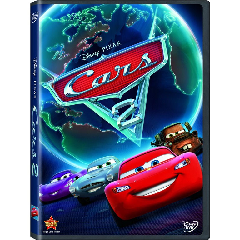 cars 2 now on blu ray dvd movie download ourkidsmom. Black Bedroom Furniture Sets. Home Design Ideas