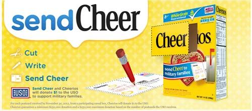 Cheer - Landing Page Image