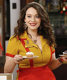 """And The Break-Up Scene"" -- Coverage of CBS' 2 BROKE GIRLS scheduled to air on the CBS Television Network. Photo: SONJA FLEMMING/CBS ©2011 CBS BROADCASTING INC. All Rights Reserved."