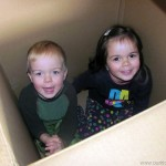 Project 366 | Day 9 | Two Kids and a Box