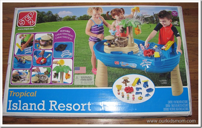 step 2 tropical island resort water table instructions