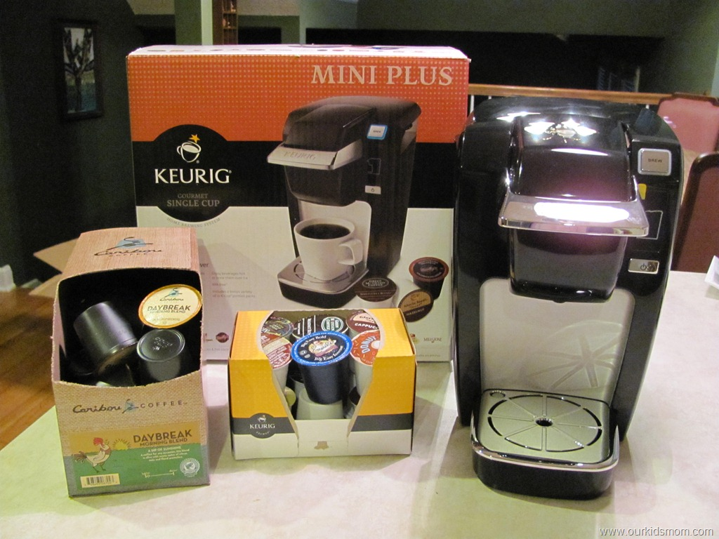 One Cup Connection Keurig Mini Plus Single Cup Coffee