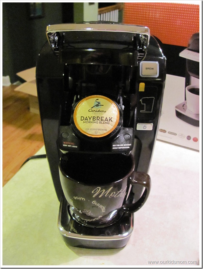 how to get water out of keurig