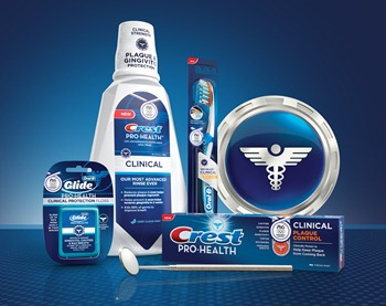 Crest and Oral-B Pro-Health Clinical product group image