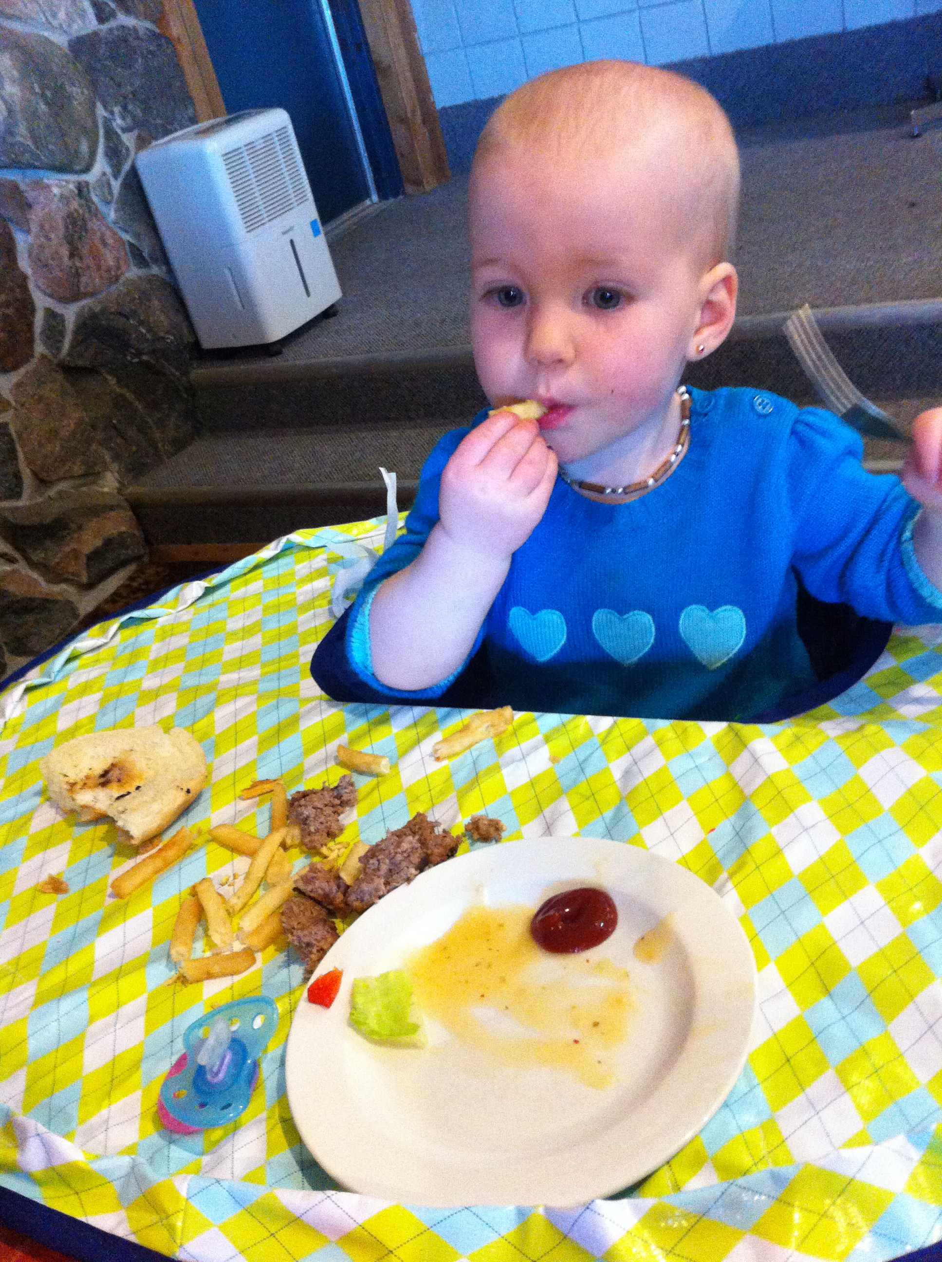 WIN Neatnik Saucer High Chair Cover Review GIVEAWAY