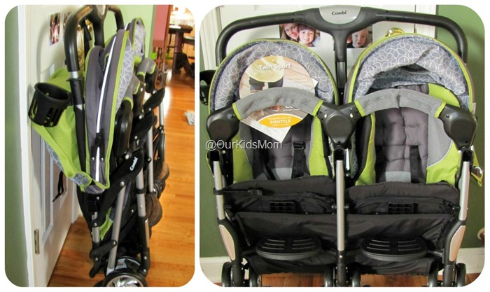 WIN Combi Twin Sport Double Stroller Review RV $259.99   #GIVEAWAY ...