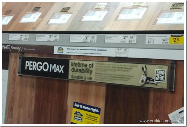 Spring Home Makeover Shopping For Pergo Laminate