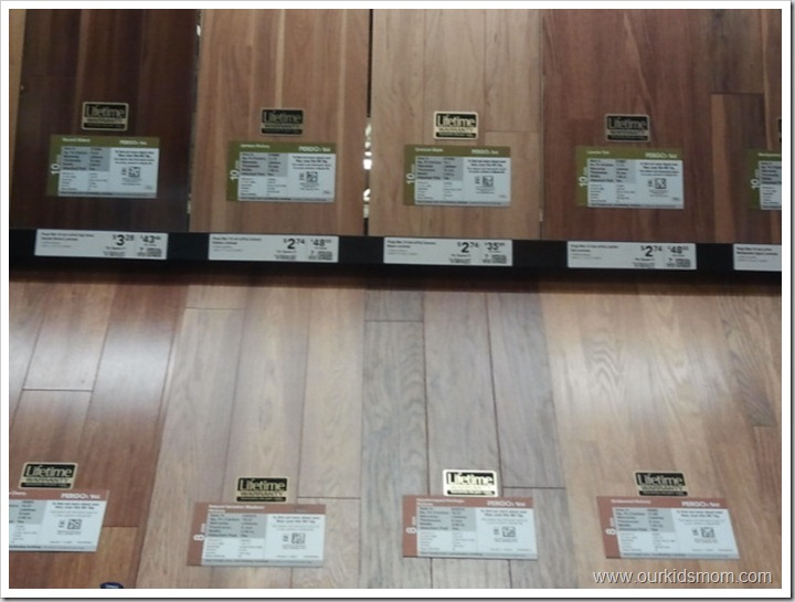 Spring home makeover shopping for pergo laminate for Laminate floor colors choose