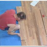 Spring Home Makeover | Installing Pergo Laminate Flooring