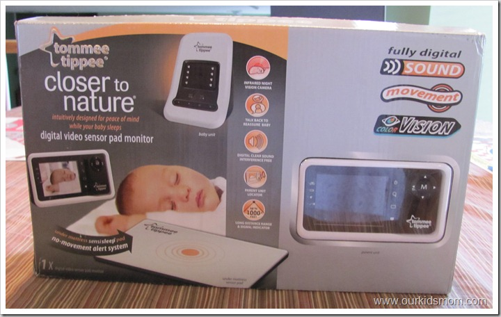 tommee tippee closer to nature digital video sensor pad. Black Bedroom Furniture Sets. Home Design Ideas