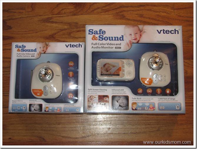 vtech safe sound full color video audio baby monitor review giveaway ends 5 28. Black Bedroom Furniture Sets. Home Design Ideas