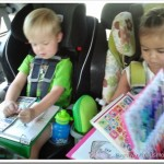 Traveling With Young Kids | Homemade Activity Book Idea