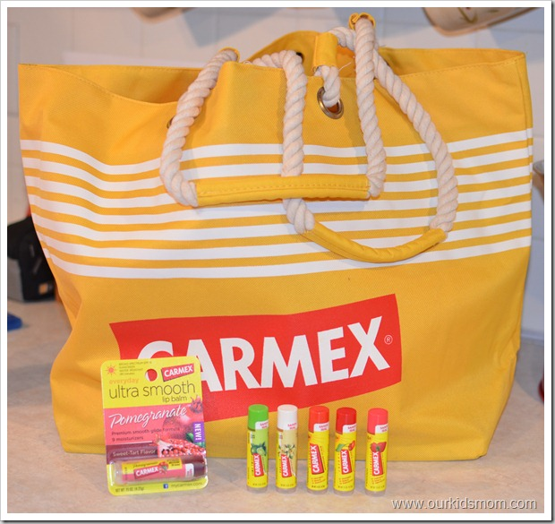 Carmex Bag and Balm