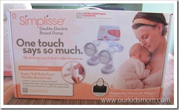 Simplisse Breast Pump