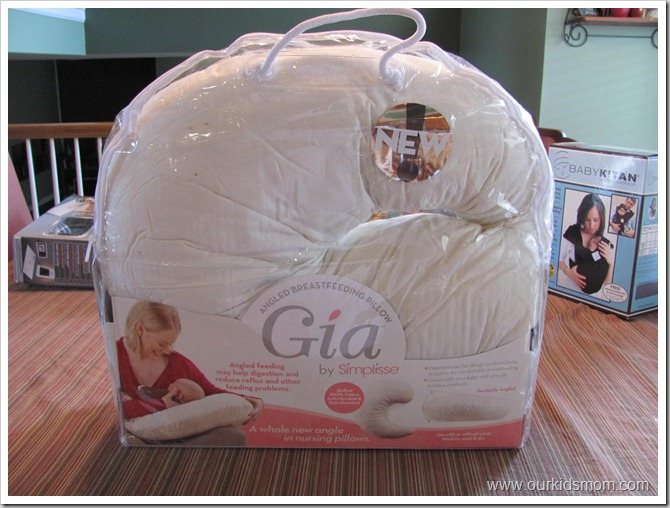 Gia Angled Breastfeeding Pillow