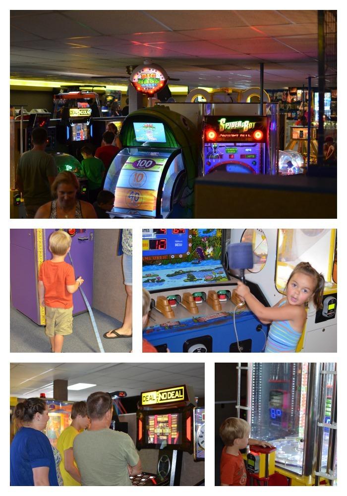 kid friendly arcade