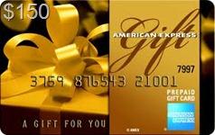 $150 Amex Gift Card