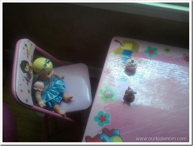 Cinderella Doll Tea Party