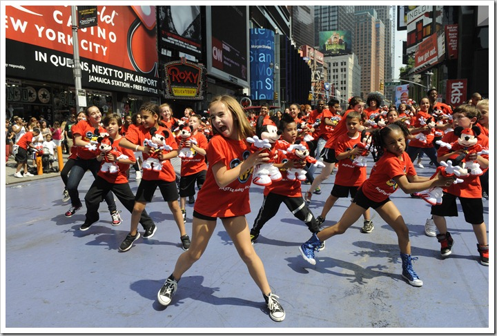 Mickey Mouse Dance Flash Mob