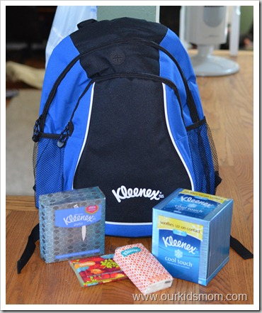 Kleenex Back To School Kit