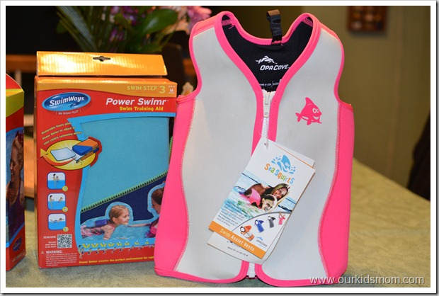 swimvest for girls, pink
