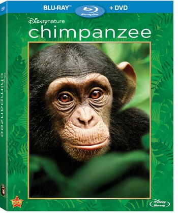 Disneynature Chimpanzee on Blu-Ray Combo