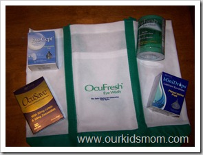 Ocufresh Prize Pack