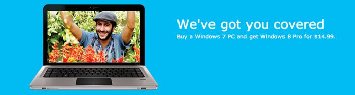 Windows 8 Pro Offer