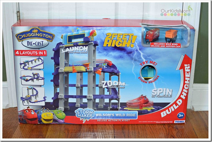 Chuggington Die-Cast Play Set