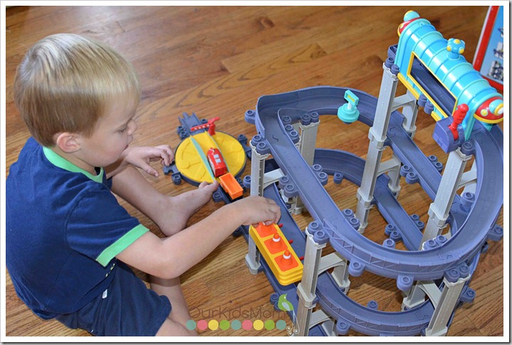 chuggington Wilson's Wild Ride set-up
