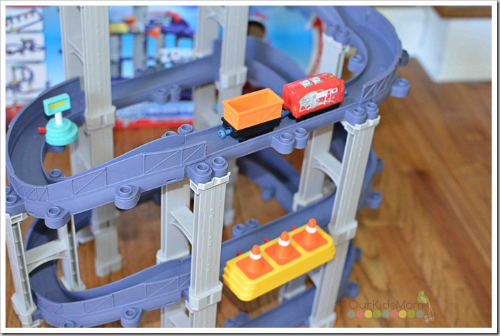 Chuggington Wilson's Wild Ride close up
