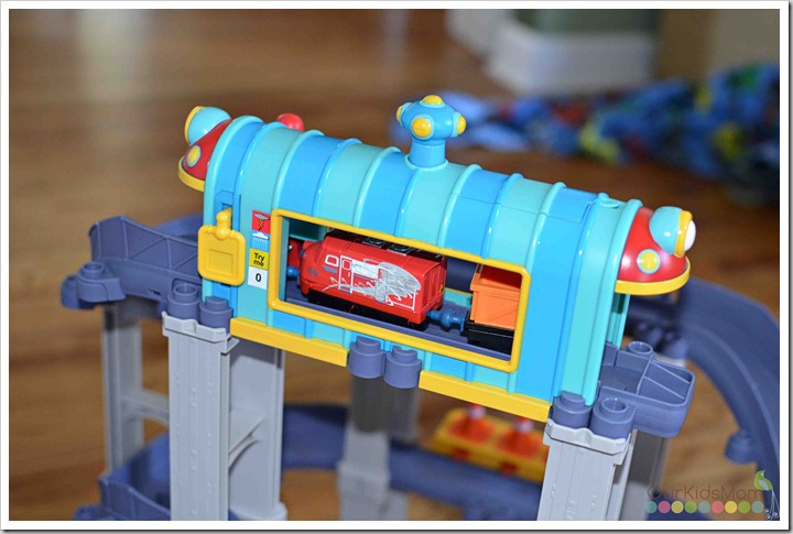 chuggington Wilson's Wild Ride tunnel