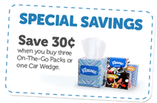 Kleenex Coupon .30