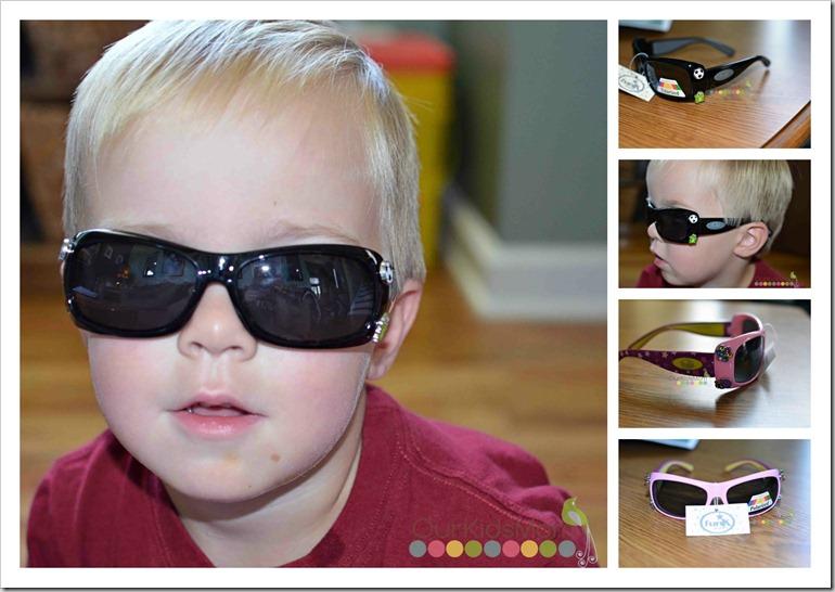 funk shades on boy