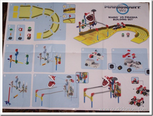 mario kart playset instructions