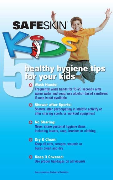 safeskin hygiene infographic