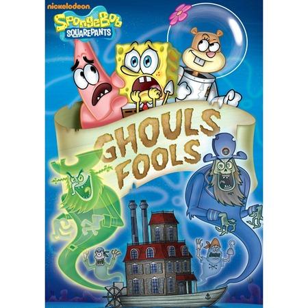 Spongebob Ghouls Fools on DVD