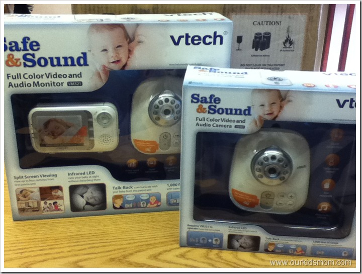 baby safety month vtech safe and sound audio video baby monitor review giveaway ends 10. Black Bedroom Furniture Sets. Home Design Ideas