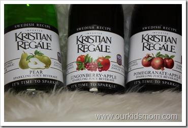 Kristian Regale Sparkling Juice 3 Flavors