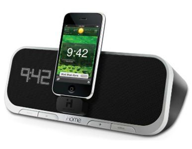 iHome alarm clock prize