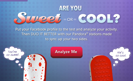 Ice Breakers Sweet or Cool App